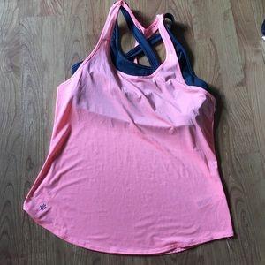 Athleta tank and sports bra